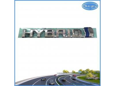 Chữ HYBRID Sau Cốp Corolla Cross 2020
